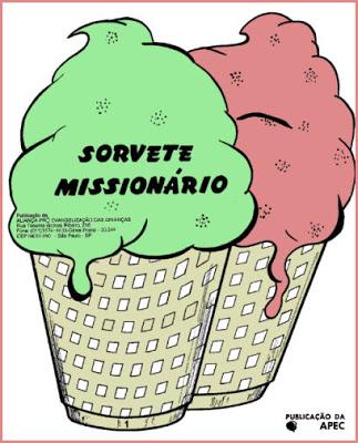 Sorvete Missionário - capa